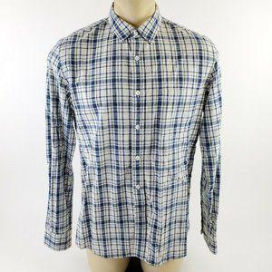 J CREW Slim Fit Casual Button Down Shirt Plaid